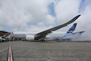 A350 XWB (MSN1) First Engine Run, Toulouse [Photo: Airbus]