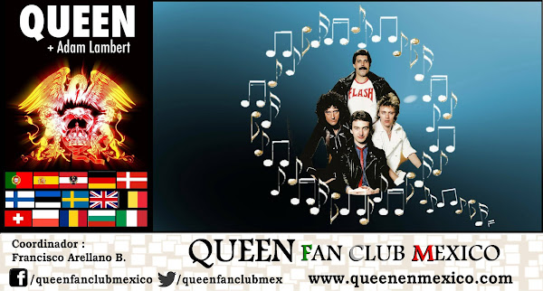 QFCM - Queen Fan Club Mexico (el único fundado en 1992) Coordinador Francisco J. Arellano B.