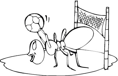 Ant Coloring Pages Printable