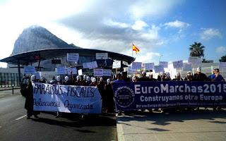 Euromarchas 2015 comienzan su primera etapa en Gibraltar
