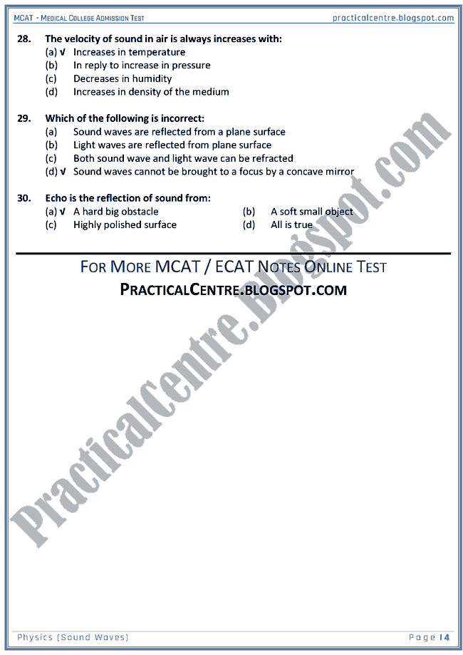 mcat-physics-sound-waves-mcqs-for-medical-college-admission-test