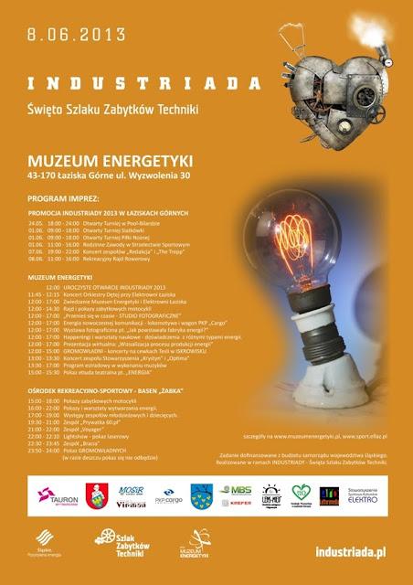 Industriada 2013 w Muzeum Energetyki w Łaziskach Górnych
