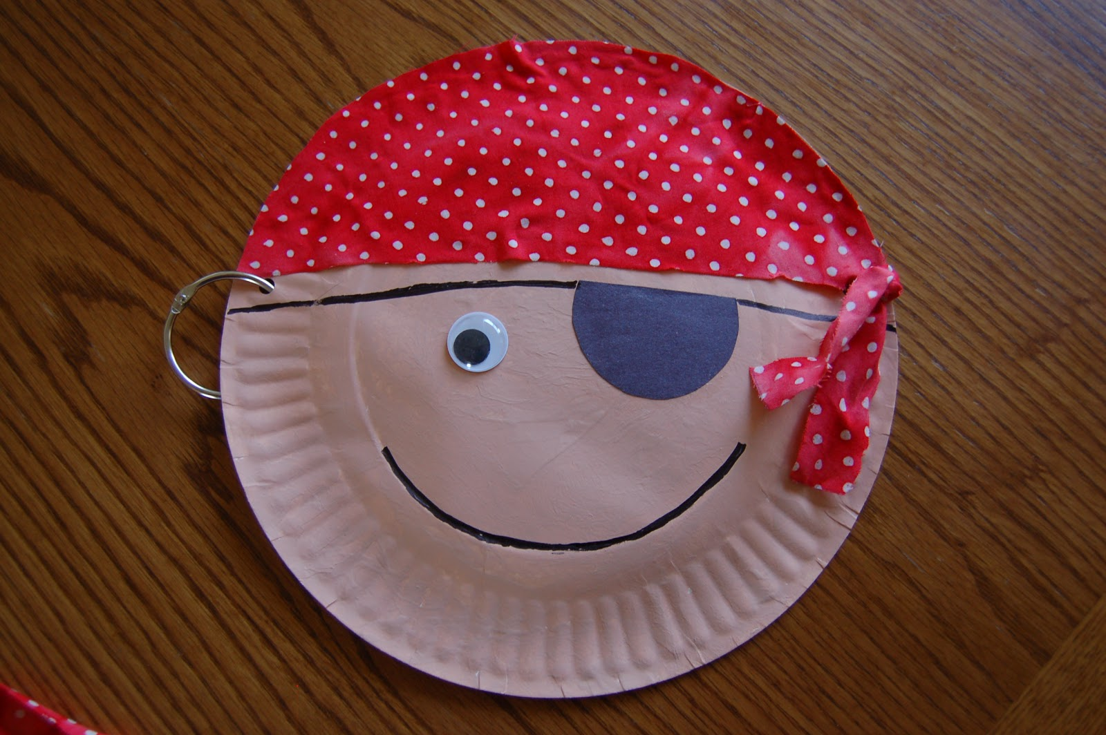 Lovely Pirate Craft Ideas For Kids Part - 10: Pirate Paper Plate Craft