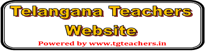 Telangana State Teachers Website