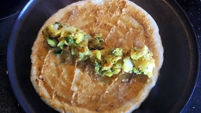 Masala Dosa with Tomato Almond ChutneyPower Breakfasts South Indian