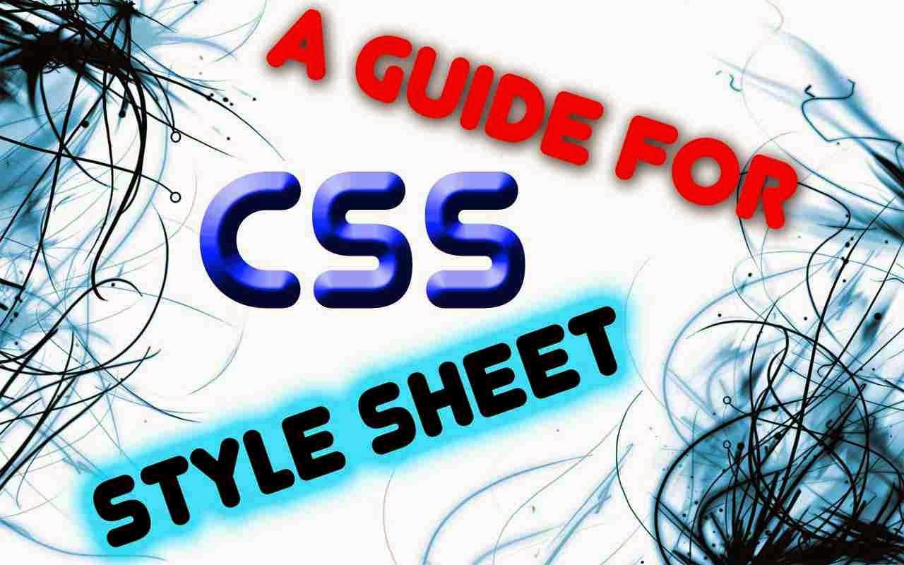 A-Guide-for-CSS-Style-Sheet