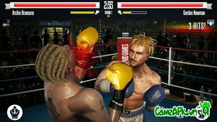 Real Boxing™ v1.8.0 hack mở khóa tất cả cho Android
