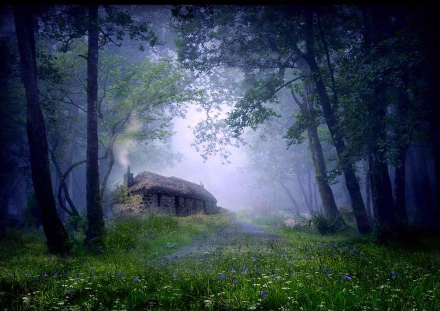 paysage rêve maison