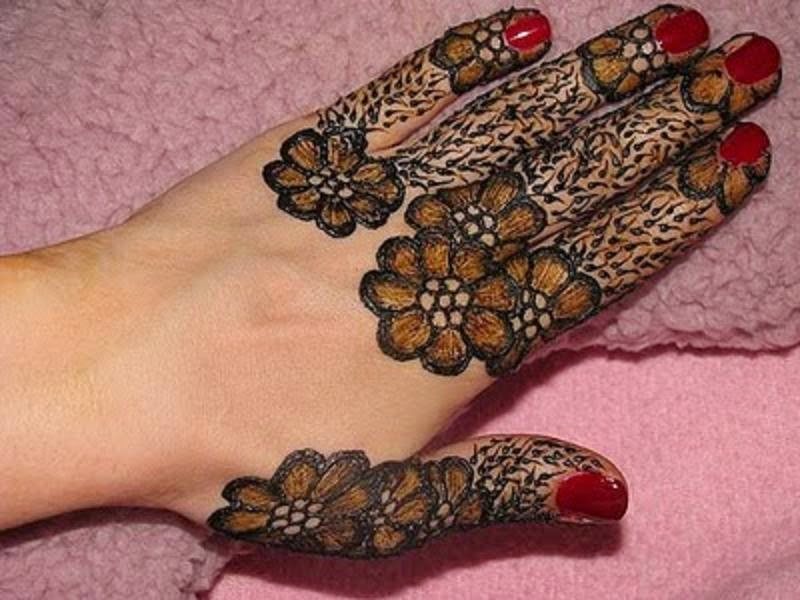 Mehndi For Fingers : Bridal mehndi designs latest best and beautiful fingers