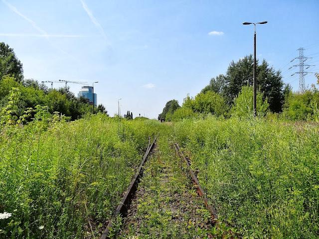 Droga na dworzec Główny w Warszawie