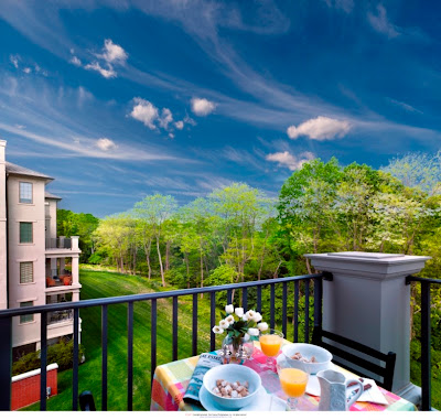 Athertyn at Haverford Reserve Condominiums Balcony Spring 2013