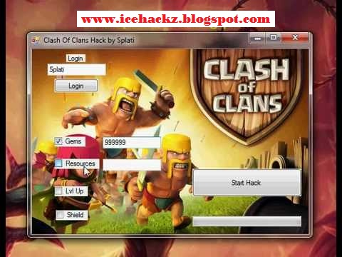 of clans hacks cheats v10 0b specs features easy clash of clans gems