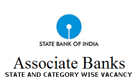 SBI Associate bank Clerk Vacancy list State wise