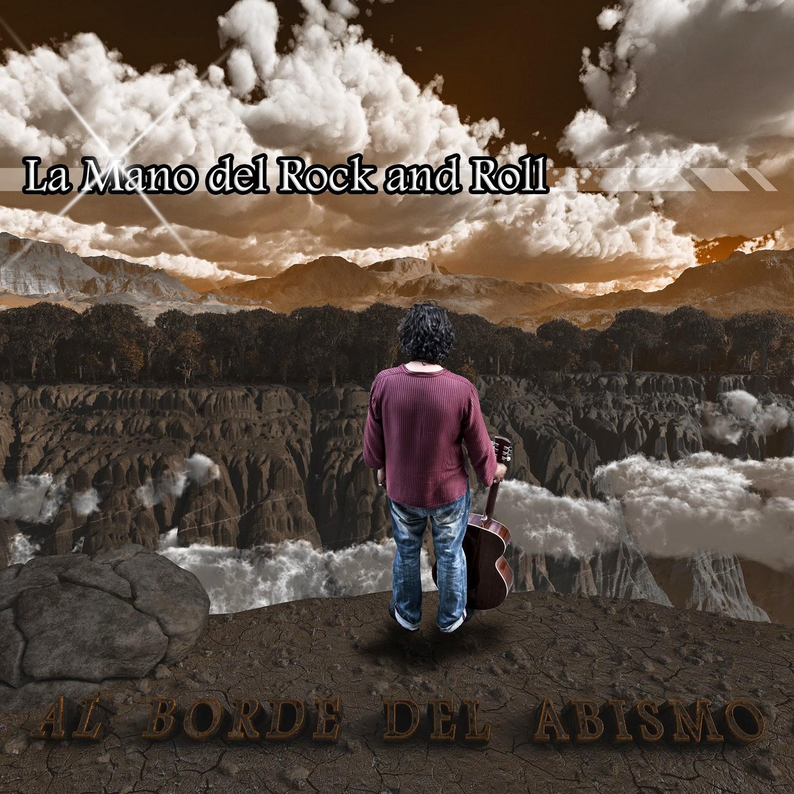 La mano del rock and roll al borde del abismo