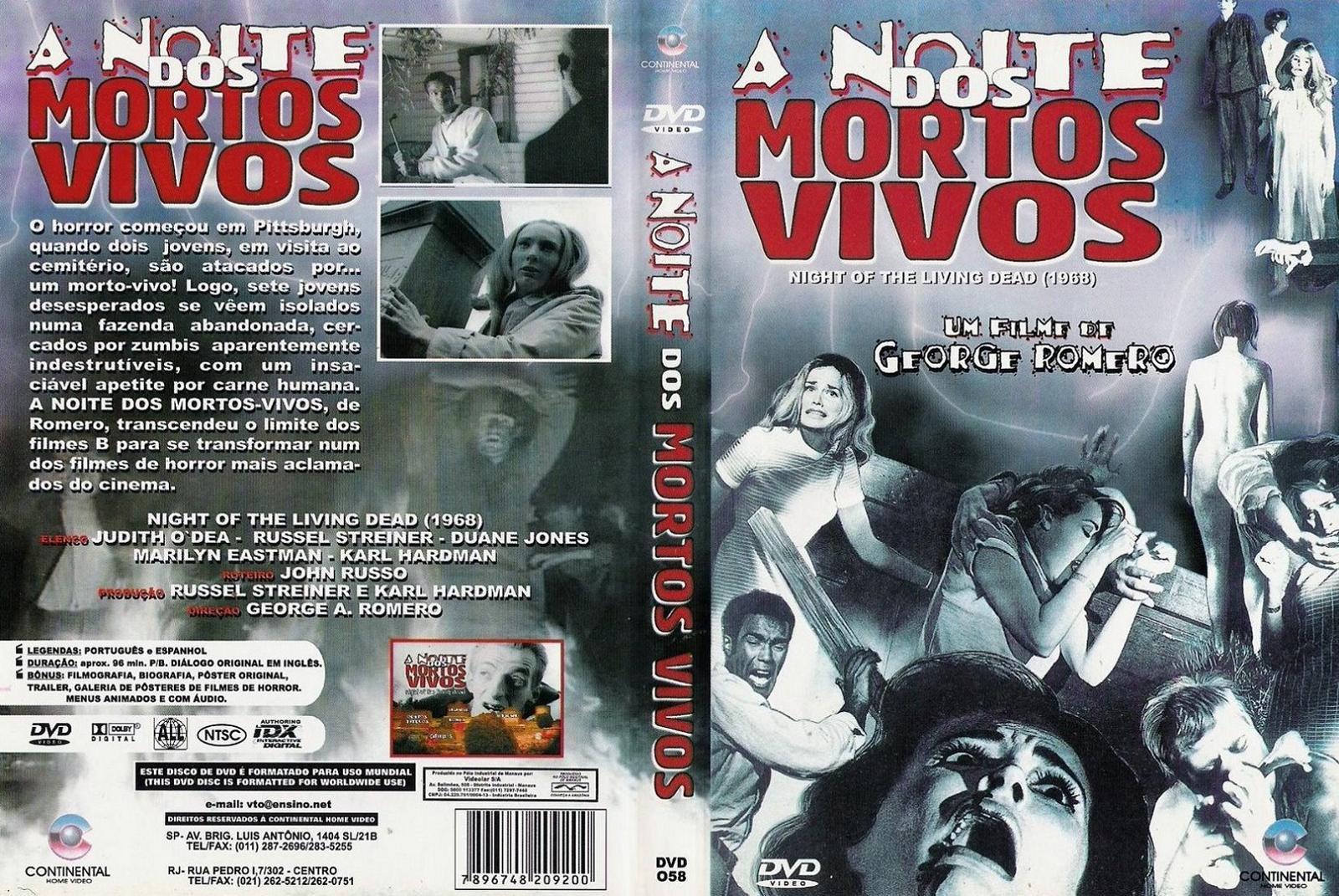 Filme Mortos Vivos with a noite dos mortos vivos (1968) oficial | gigante das capas