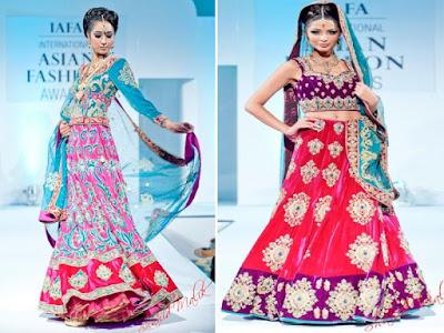 Indian Wedding Dresses on Latest Indian Bridal Dresses 2012   International Asian Fashion Awards