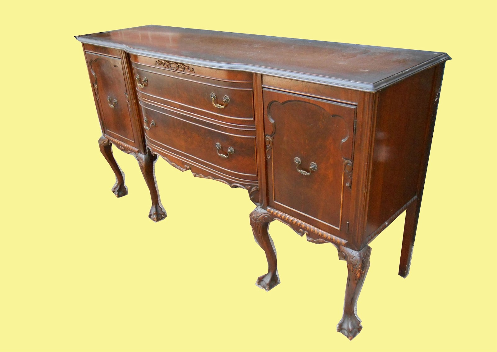 uhuru furniture collectibles 1940s chippendale style. Black Bedroom Furniture Sets. Home Design Ideas