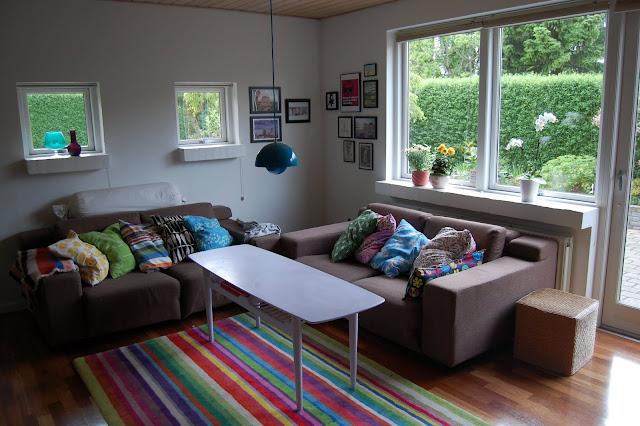 Pfistelpuff: det nye hus #1   stue og køkken