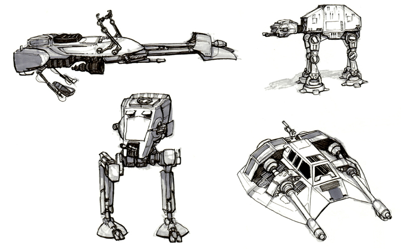 how to draw millennium falcon
