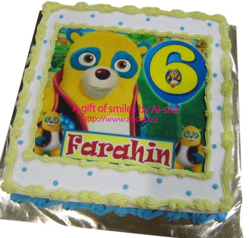 Birthday Cake Edible Image Special Agent Oso Ai-sha Puchong Jaya