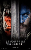 Two Orcs, One Horn warcraft movie poster