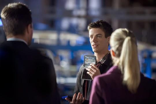 Grant Gustin es Barry Allen en Arrow