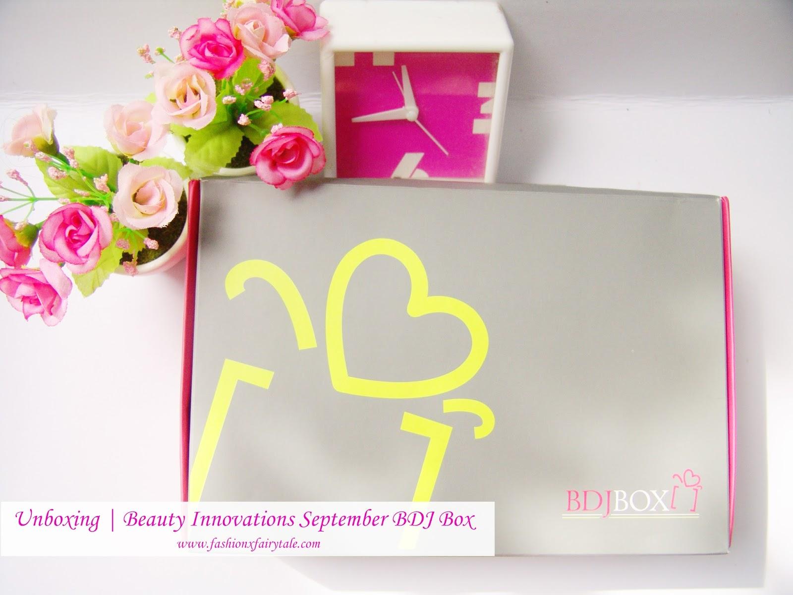 Unboxing | Beauty Innovations September BDJ Box