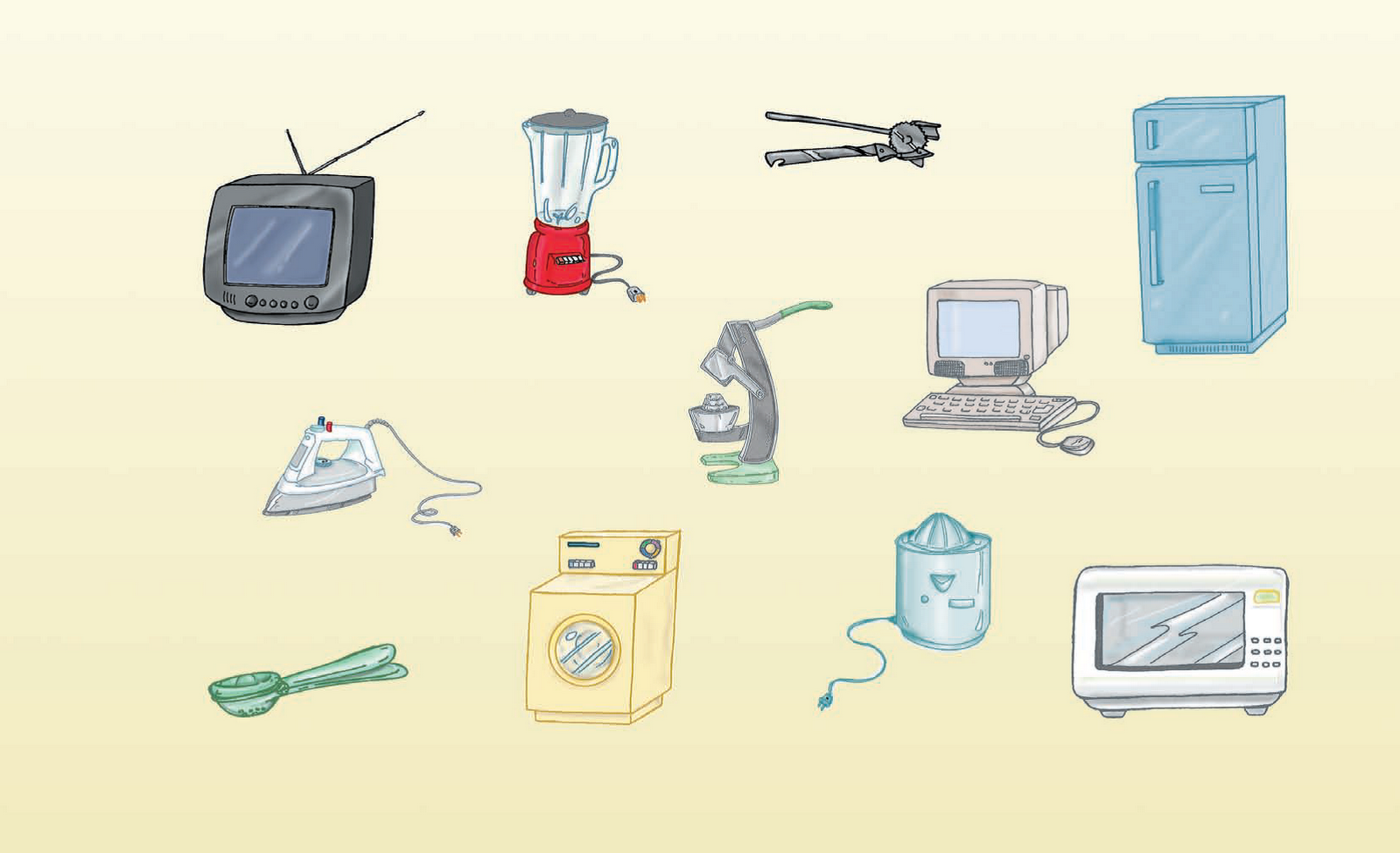 El blog de mis clases los electrodom sticos de mi casa - Mi casa electrodomesticos ...