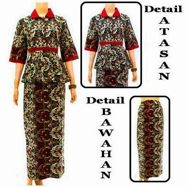 Baju Batik Dress Muslim motif cumi