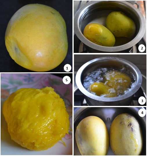 Ingredients of Mango Rasam