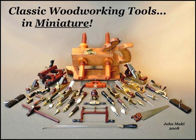 - My Miniature Woodworking Tools -
