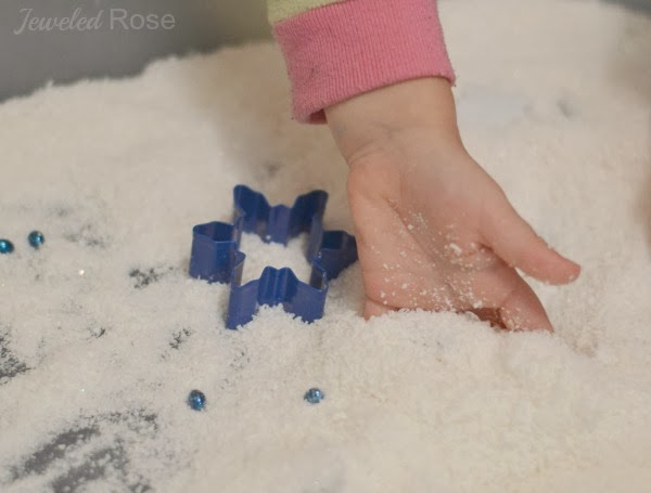 Silk Snow Recipe for Play