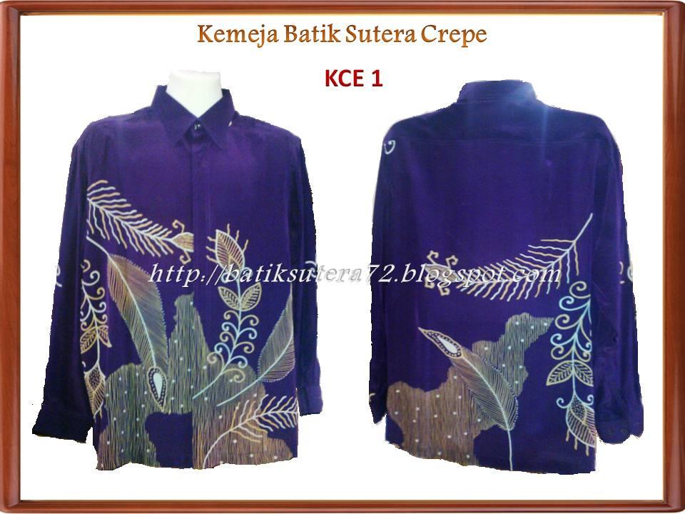 Batik Sutera72 Kemeja Batik