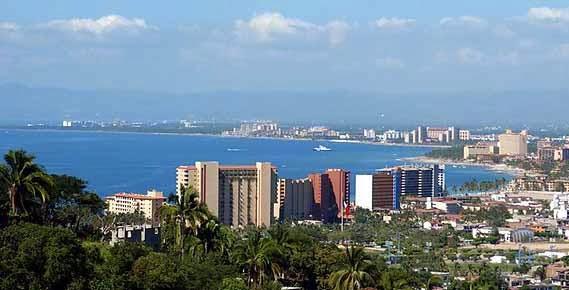 De turismo por Puerto Vallarta en México