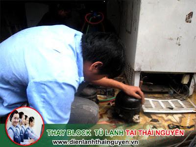 Thay Block tủ lạnh tại Thái Nguyên