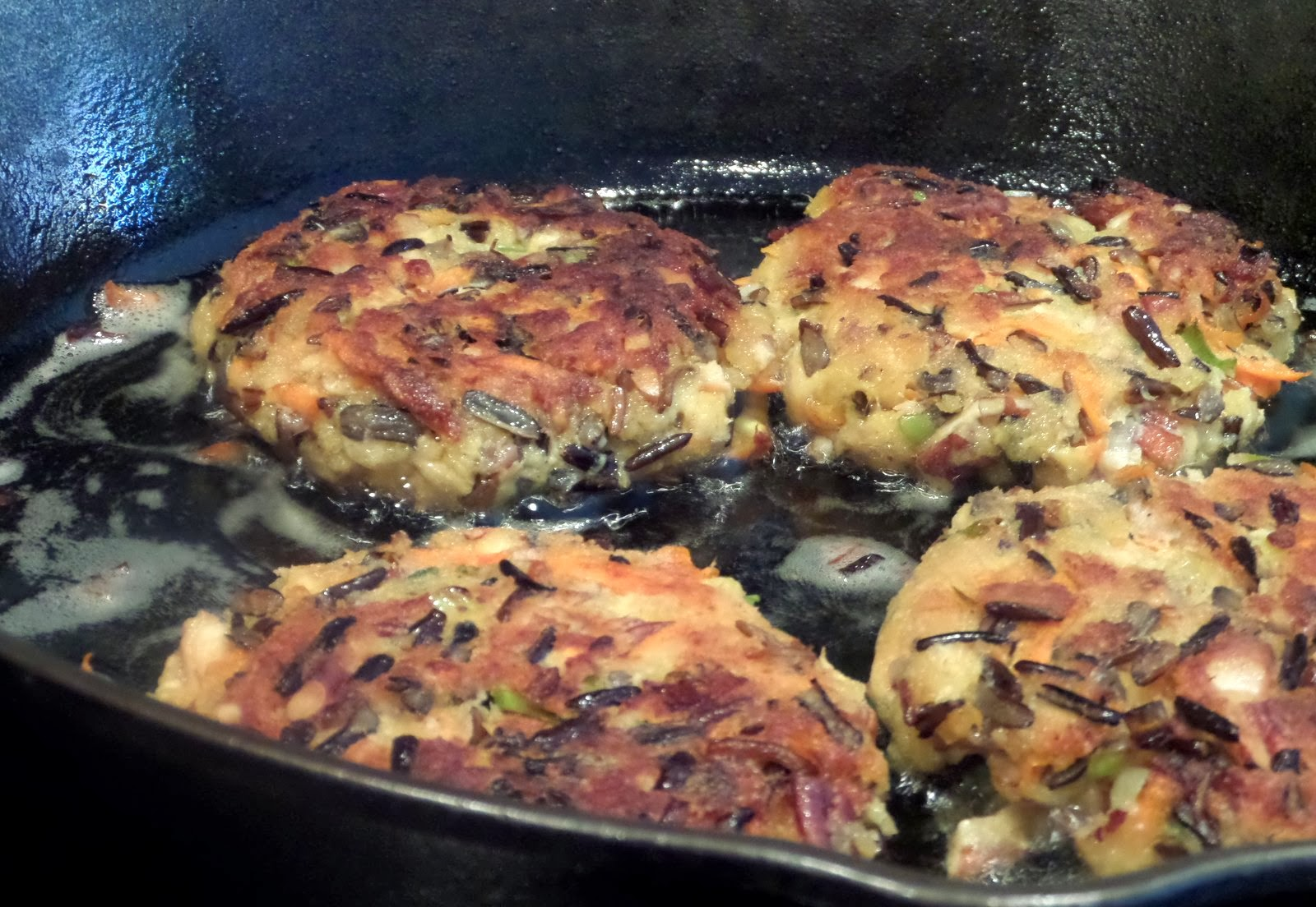 Wild Rice Cakes With Smoked Mozzarella And Pecans Recipes — Dishmaps