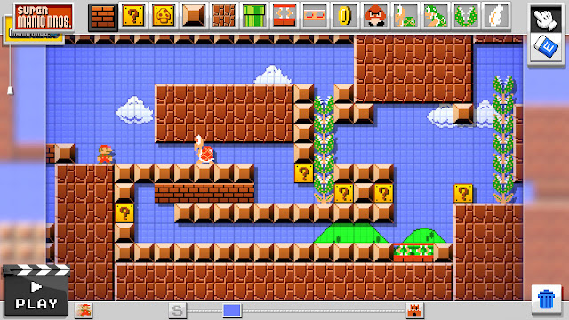 Filtrada fecha de lanzamiento de Mario Maker 1
