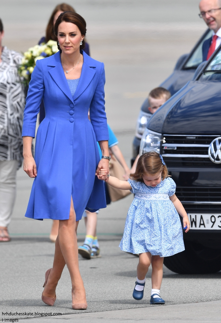 Princess Charlotte Arrives for Her First Day of Nursery School forecasting