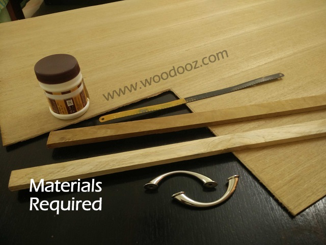 Materials - tools required