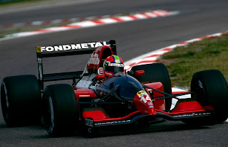 Fondmetal, equipe histórica de Formula 1 de 1992 by 43parcferme.blogspot.com