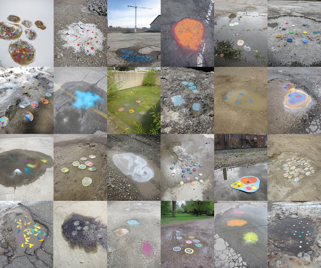 'PUDDLE/PUDDLES/POOL': long term 'interventions' project
