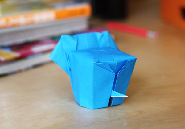 Heres My Attempt Following This YouTube Video In Which Jo Nakashima Shows How To Make An Origami Elephant Designed By Li Jun