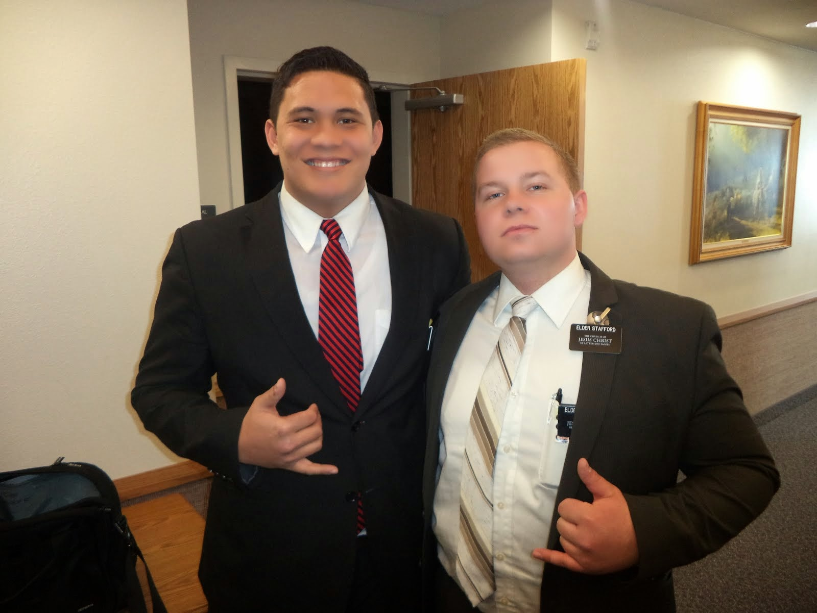 Me and Elder Stafford