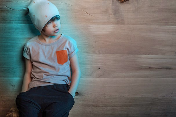 Moth beanie by Nosweet for spring 2014 kidswear collection