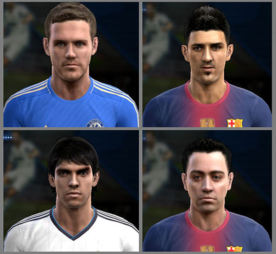 Mini Facepack - PES 2013