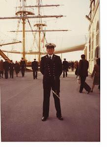 4/12/1982: Roberto Fasciani cadetto 1° anno Corso Normale dell'Accademia Navale di Livorno