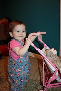 Norah 9 months!
