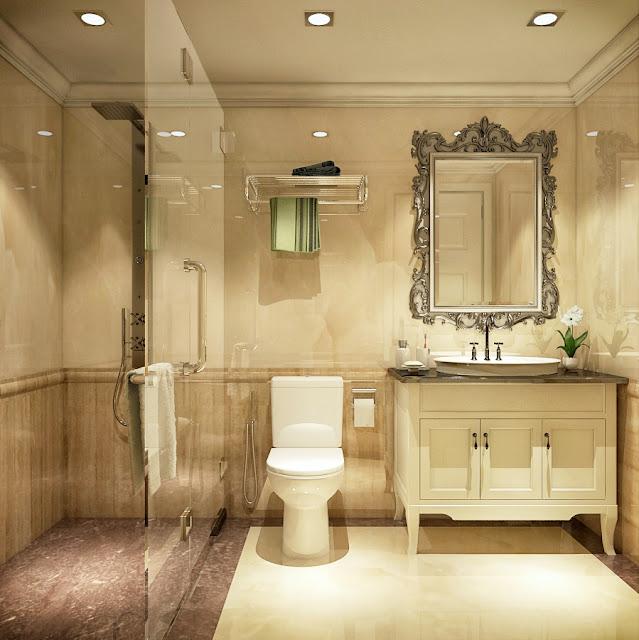 Phòng tắm căn hộ GoldSilk Complex