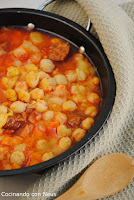 Garbanzos guisados