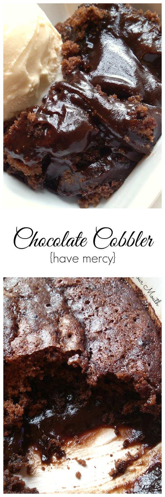 South Your Mouth: Chocolate Cobbler
